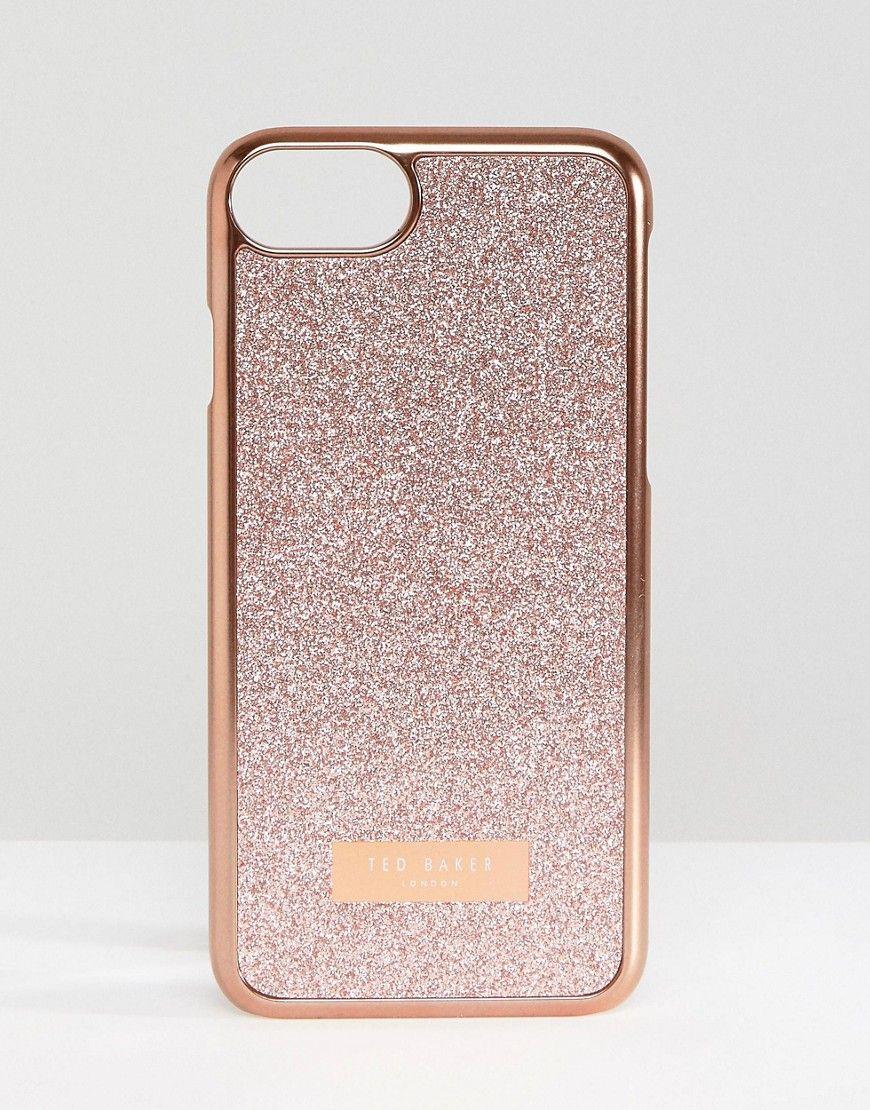 ted baker glitter iphone 7 case