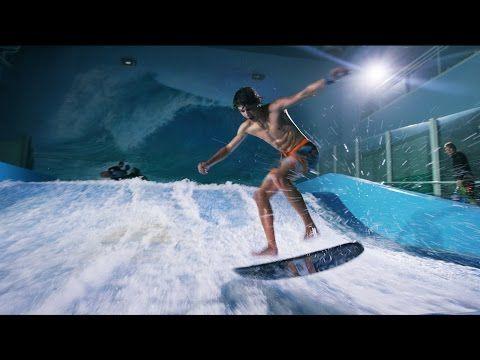 ▶ Behind The Scenes - Surfing Indoors - YouTube.  Provo Beach Resort, Utah