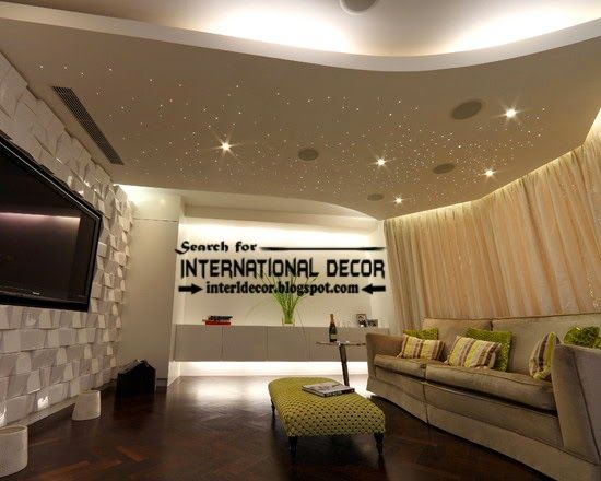 New Pop False Ceiling Designs Ideas 2015 Led Lighting For Living Room
