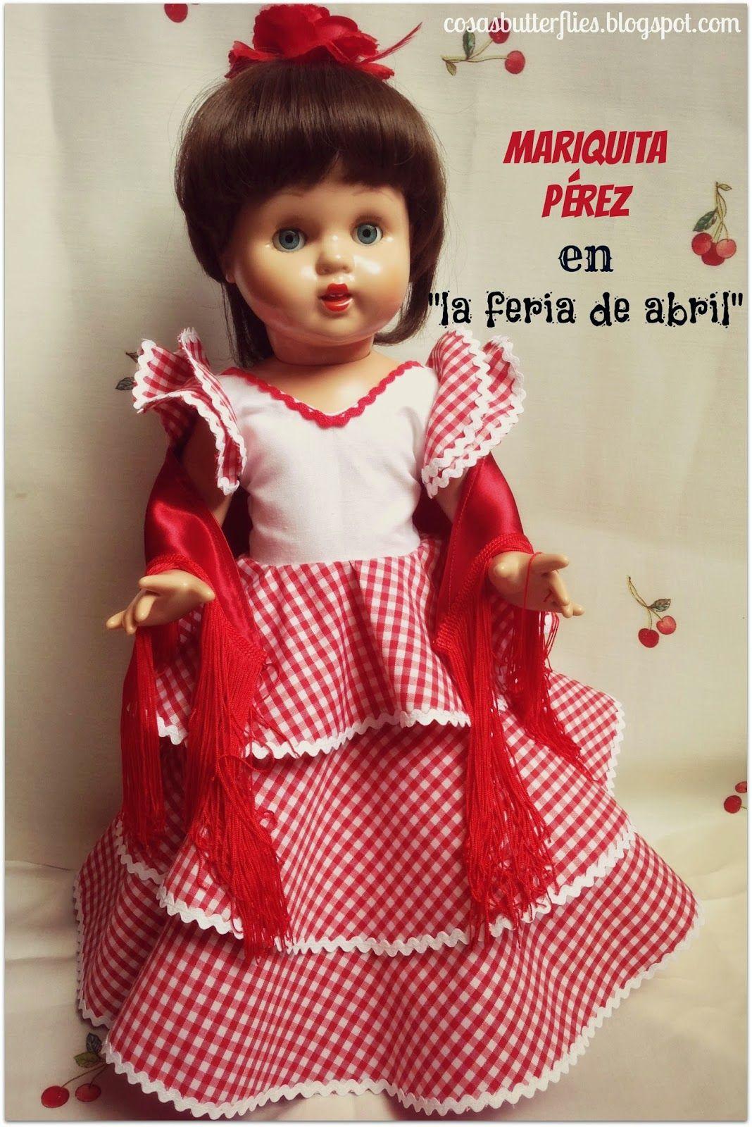 642b73efa DIY Vestido muñeca Mariquita Pérez en la Feria de Abril
