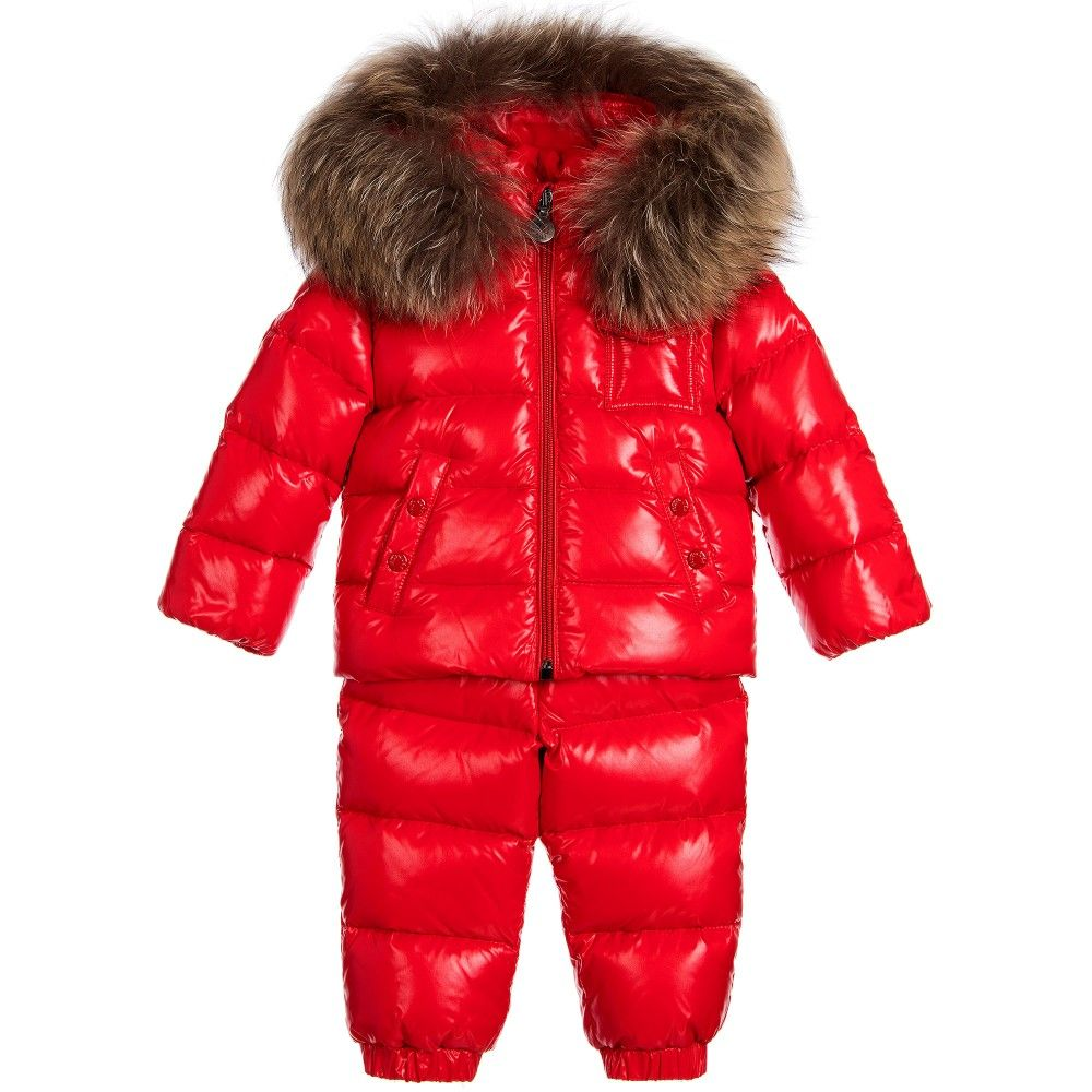 09d991091505 Moncler - Babys Red 2 Piece  Remy  Snowsuit Set