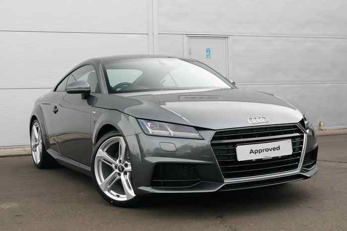 Daytona Grey Metallic Audi Tt Coupe Audi Pinterest