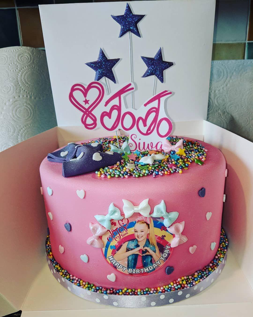 Jojo Siwa Birthday Cake Decorations