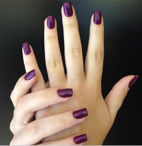 Esmalte Uva Manicura De Uñas Uñas De Gel Y Uñas Gelish