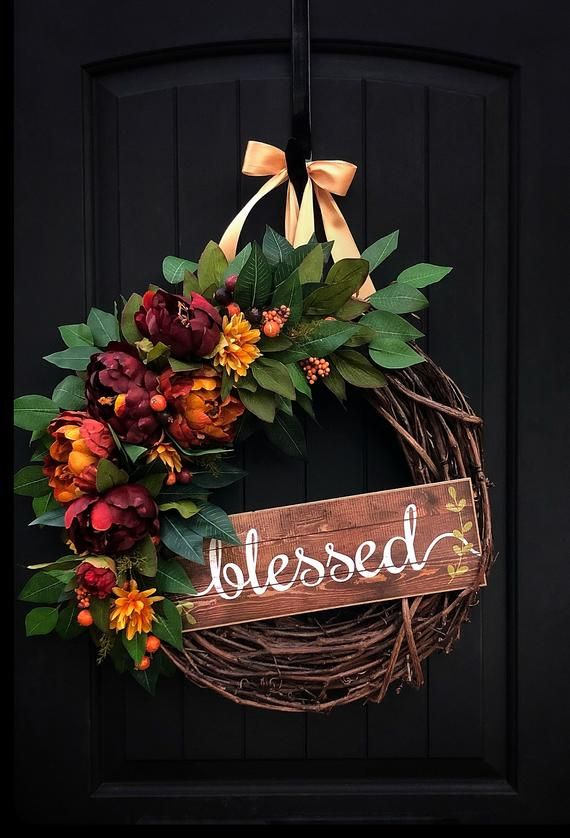 Photo of Fall wreath for front door, fall wreaths, fall wreaths, etsy wreath, wreaths, fall door wreath