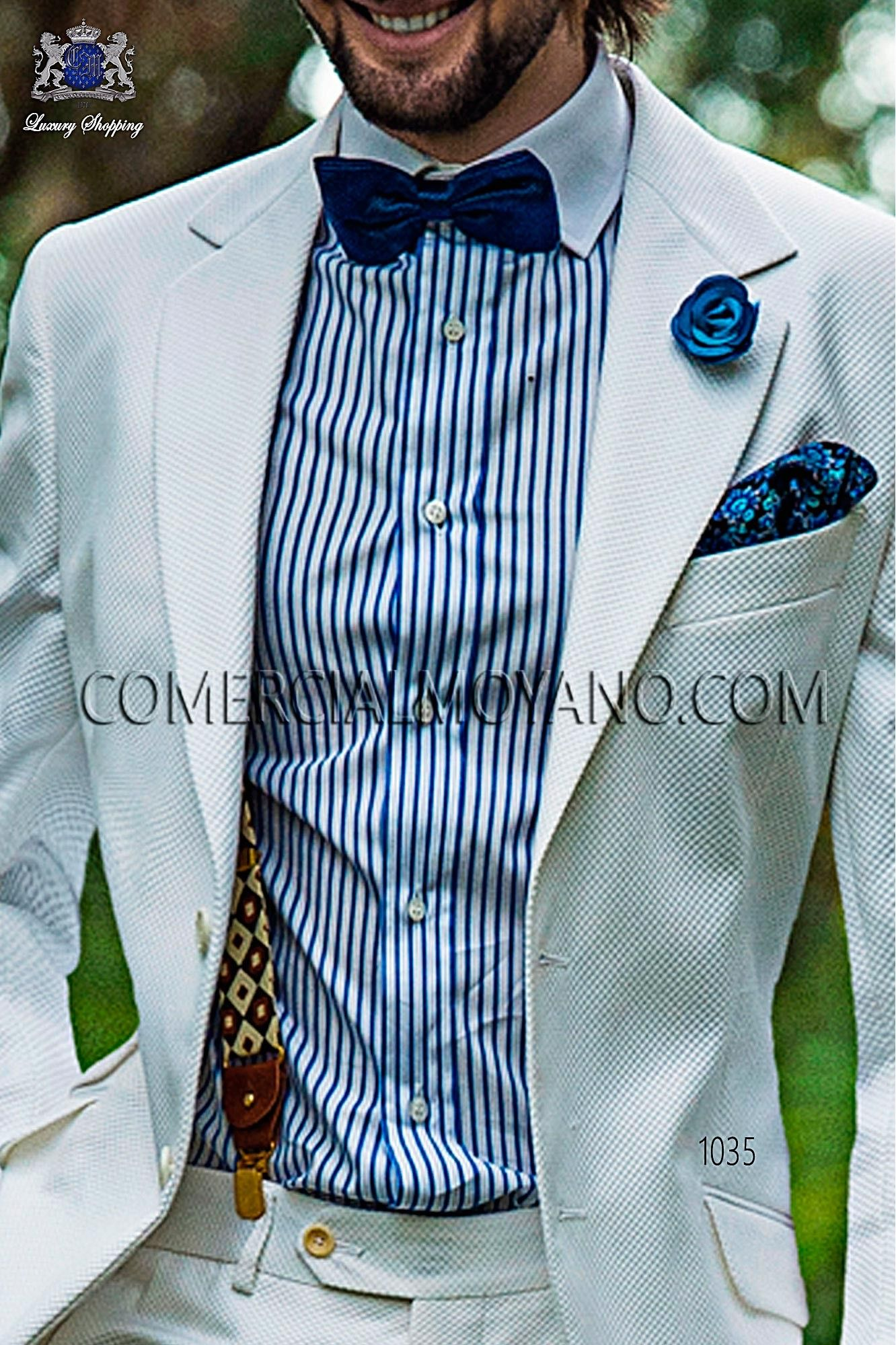 Hipster white men wedding suit 1035 Ottavio Nuccio Gala | Men ...