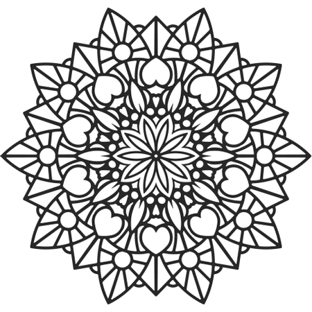 Image Result For Coloriage Mandala Fleur Mandala Coloring Pages