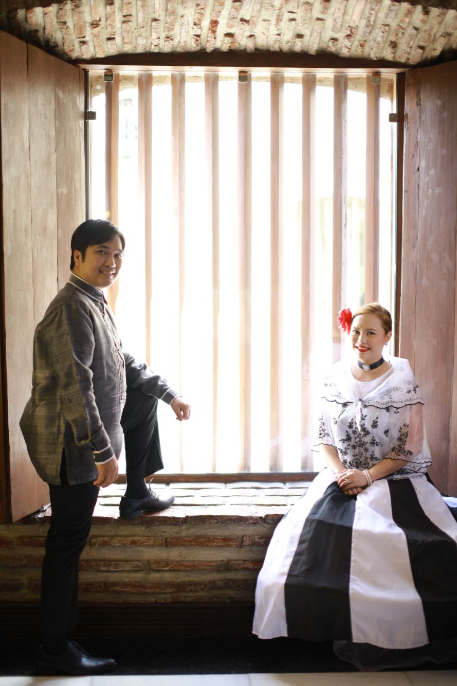 Filipiniana themed prenup | Filipiniana Wedding | Pinterest ...
