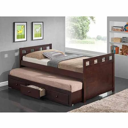 Broyhill Kids Breckenridge Captain's Bed with Trundle Bed and ...