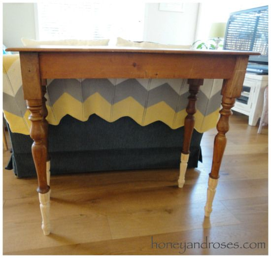 How To Extend The Legs Of A Table Diy Table Legs Kitchen Table