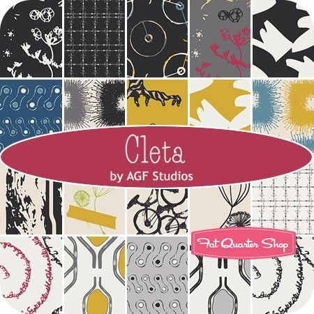 Cleta by AGF Studios for Art Gallery Fabrics - August 2014