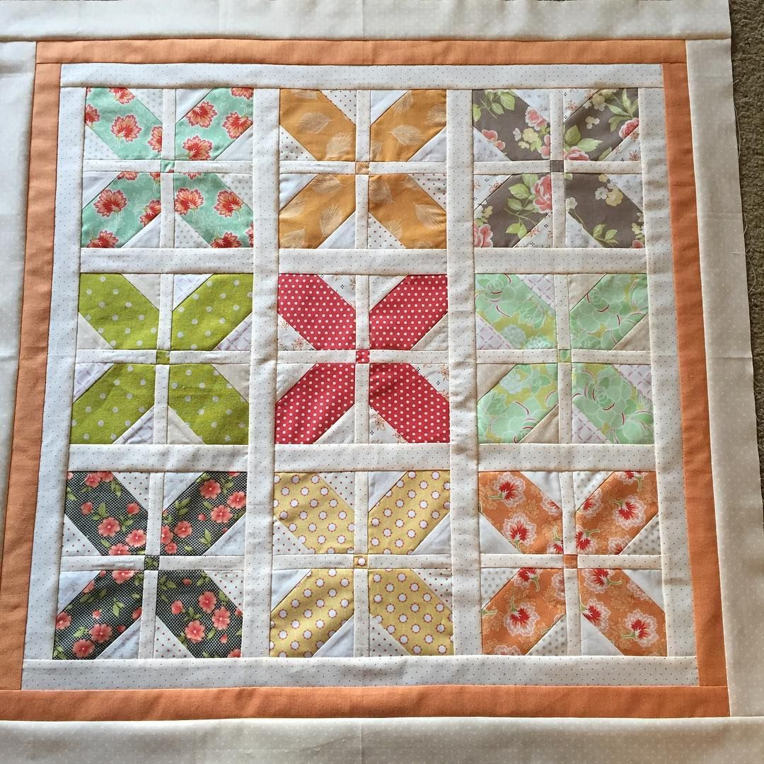 Hugs 🤗 was such a fun quilt to put together! #figtreesewalong ... : how to put a quilt together - Adamdwight.com