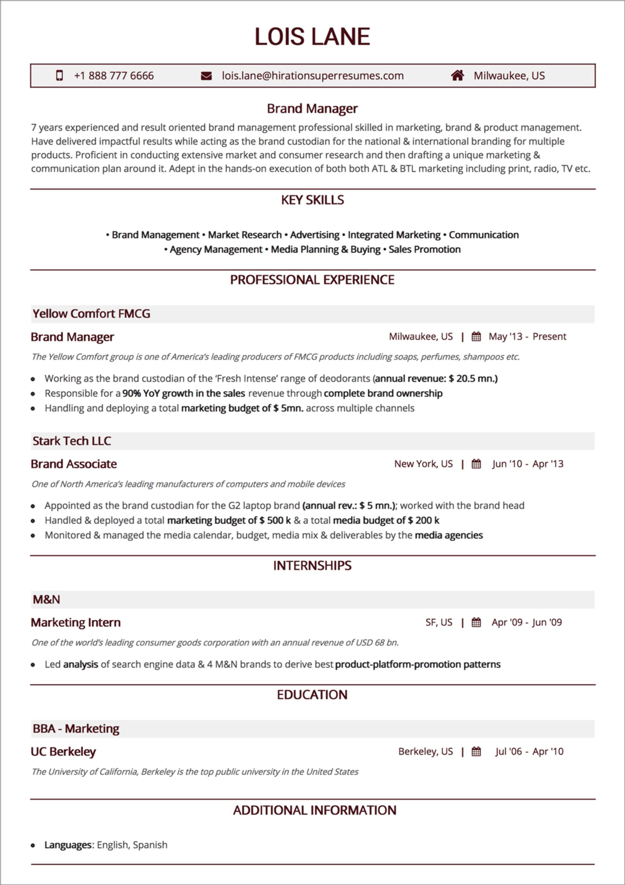 How To Craft The Perfect Web Developer Résumé Business
