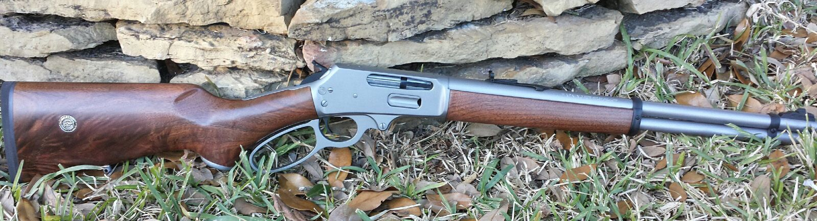 custom built marlin lever action rifle for a u s marine note the