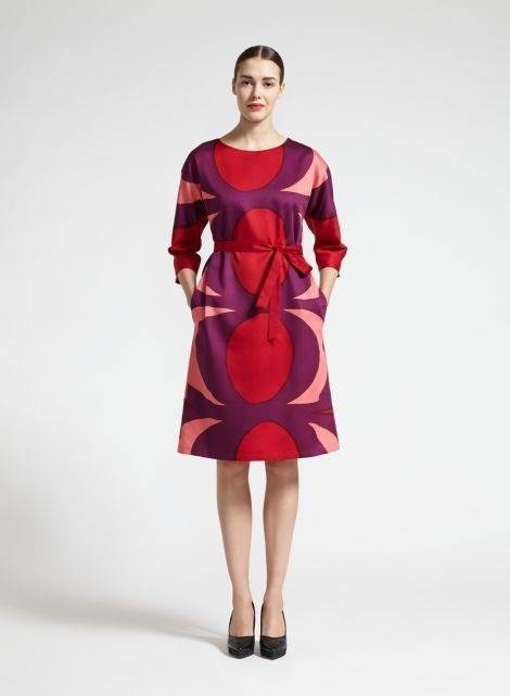 Skirts amp; Clothing red Mooi Women Dress Coral Lilac Dresses w7Hq8fSv