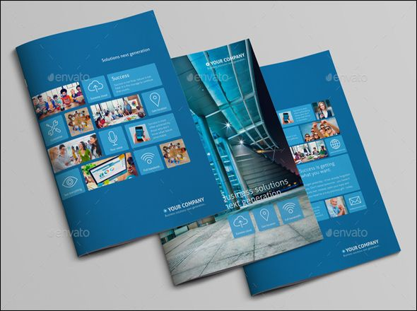 Free  Premium Corporate Brochure Design Templates