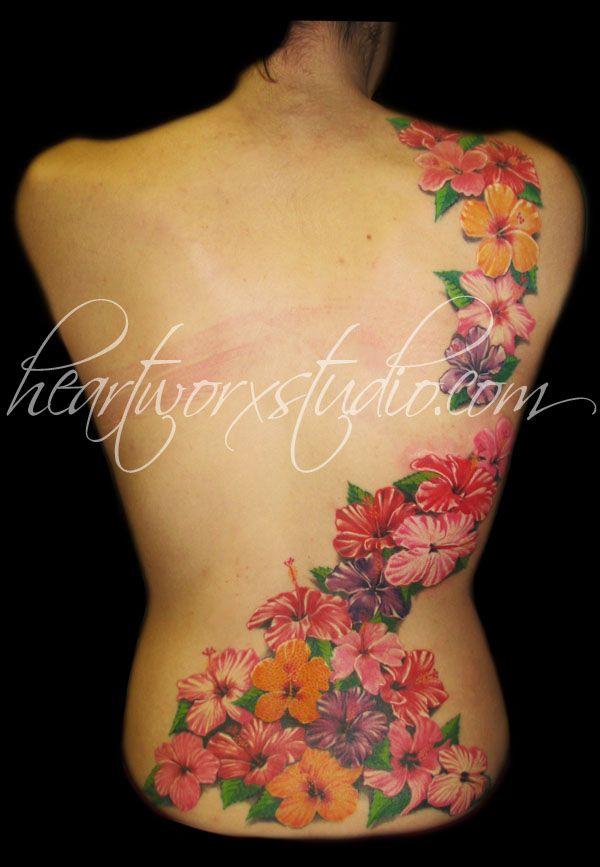 22 Hibiscus Backpiece But I Want A Horizontal Boxstrip Instead