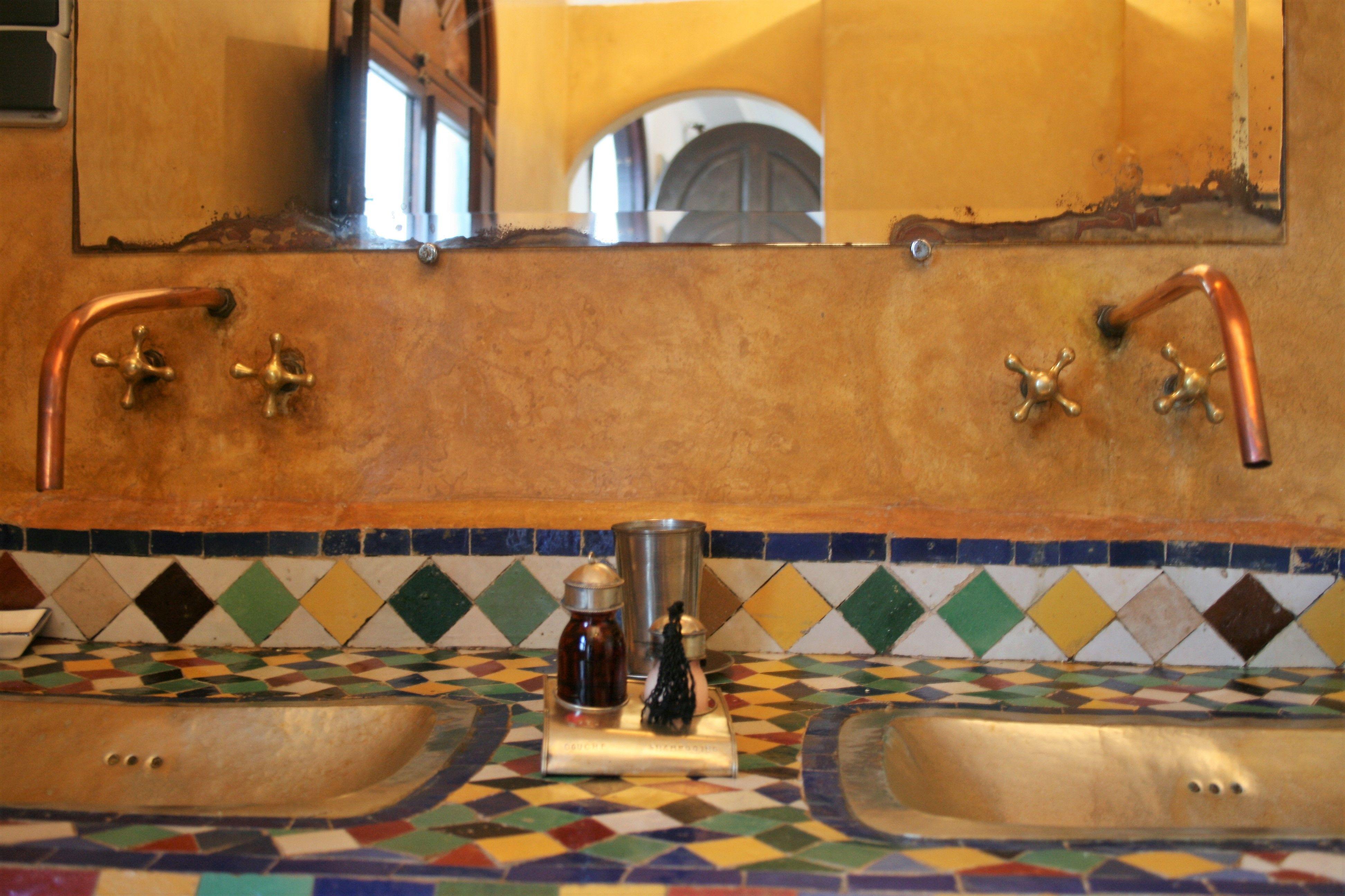 Orientalische Badgestaltung   Badgestaltung, Badezimmerboden ...