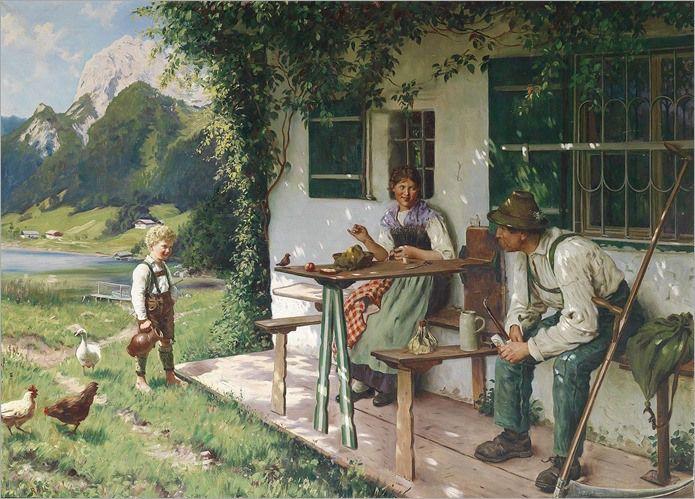 """""""Summer Day"""" ... by Emil Rau"""