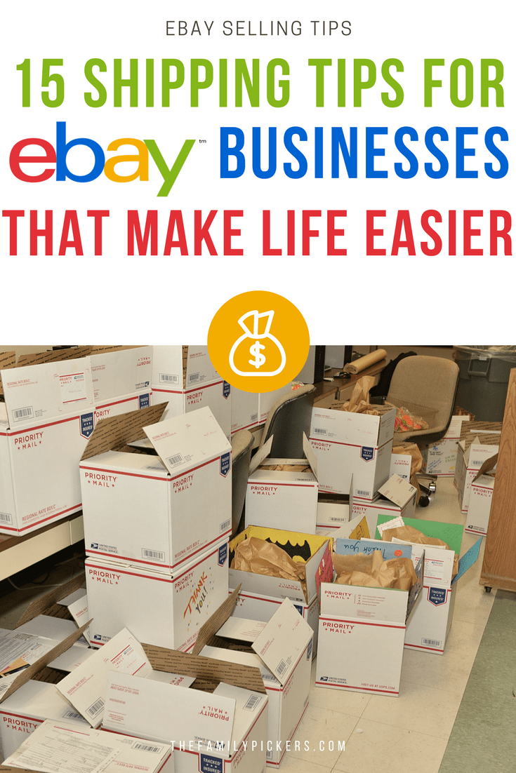 Ebay Shipping Tips 15 Of The Most Useful Shipping Tips For Ebay Ebay Selling Tips Ebay Business Selling On Ebay