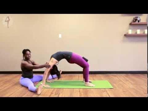 yoga pose urdhva dhanurasana  upward facing bow  yoga