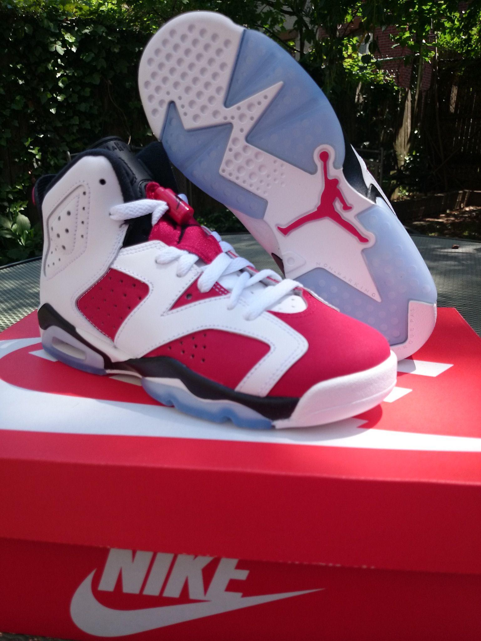 Size 4y ) Jordan 'Carmine' 6's · Shop With Deadstock