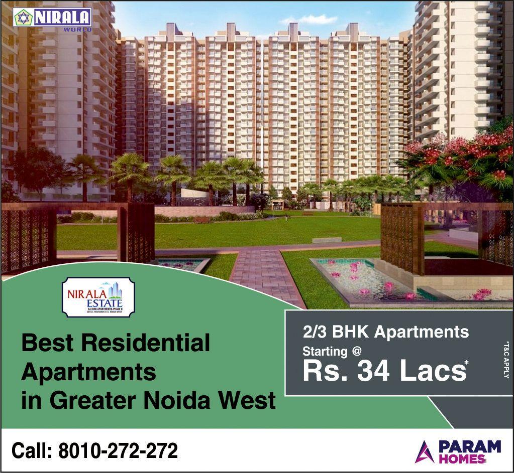 Nirala Estate Phase2 Residential Flats Greater Noida West In 2020 Residential Apartments Residential Estates