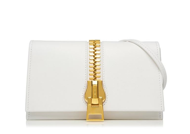 Tom Ford SMALL ZIP FRONT BAG - for Women | TomFord.com