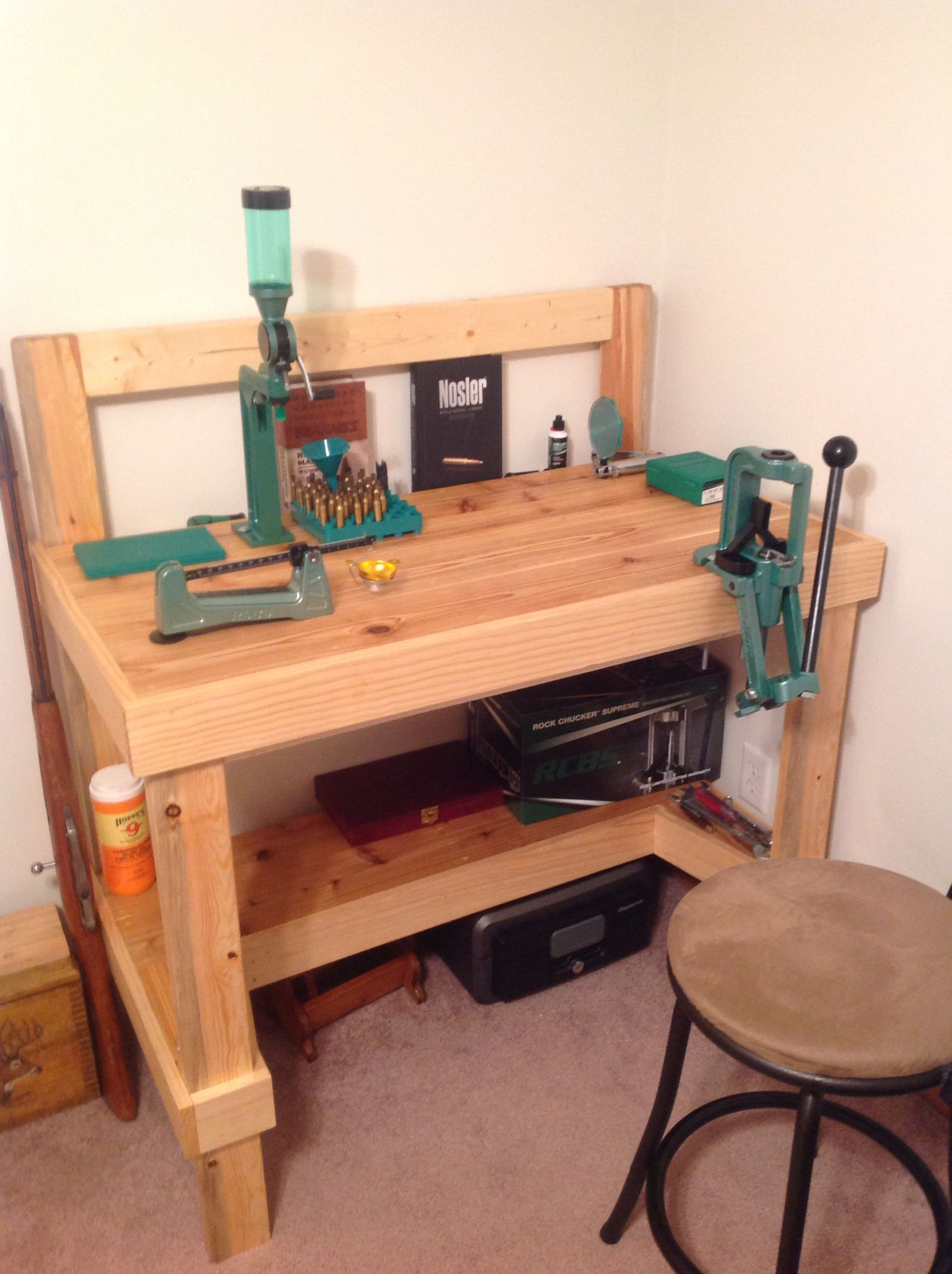 my reloading bench workbench pinterest reloading