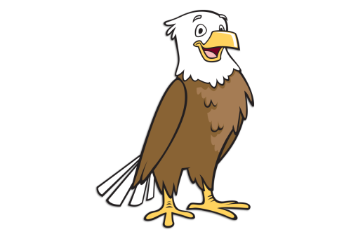 Eagle's Landing Day Camp Mascot