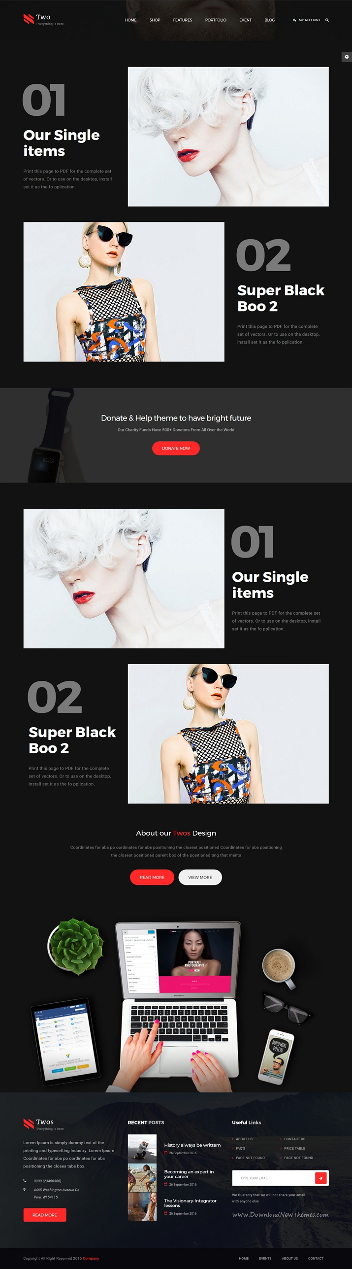 NumberTwo is an creative multipurpose #Drupal 8 Theme for #cmstheme stunning #website with 7 unique homepage layouts download now➩ https://themeforest.net/item/numbertwo-responsive-creative-multipurpose-drupal-8-theme/19450578?ref=Datasata