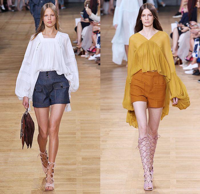 Chloé 2015 Spring Summer Womens Runway | Denim Jeans Fashion Week Runway  Catwalks, Fashion Shows, Season Collections Lookbooks > Fashion Forward  Curation ...