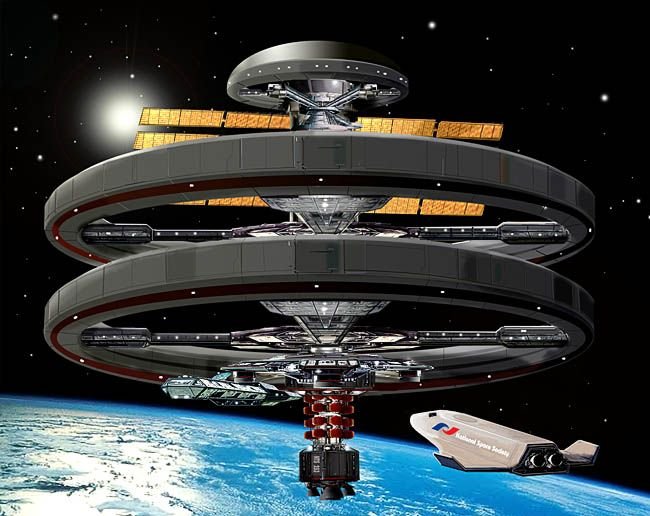 The Aldrin Space Settlement | Future Studies, Technology ...