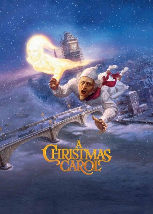 Animation 2009 2012 100 Years Of Movie Posters 71 Christmas Carol Film Christmas Carol Ebenezer Scrooge