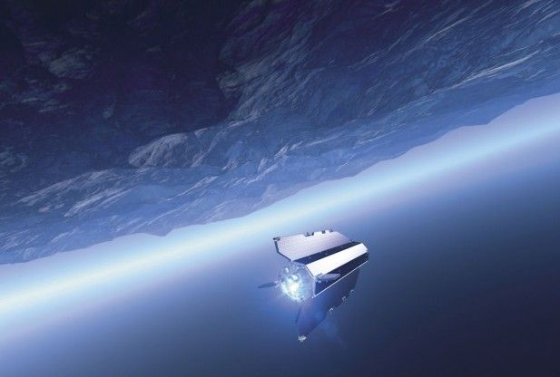 goce satellite to fall to earth may reach surface space