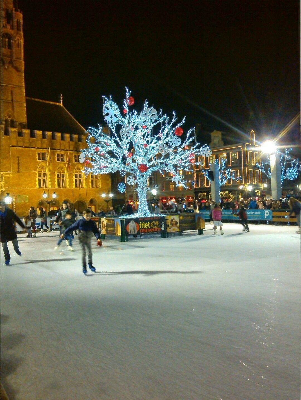 Kerstmarkt Brugge 2014 in Brugge, West-Vlaanderen
