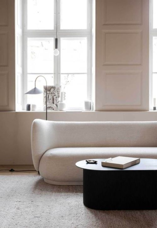 Minimalist House 85 Design: Minimalist Home Interior, Minimalist Home, Curvy Sofa