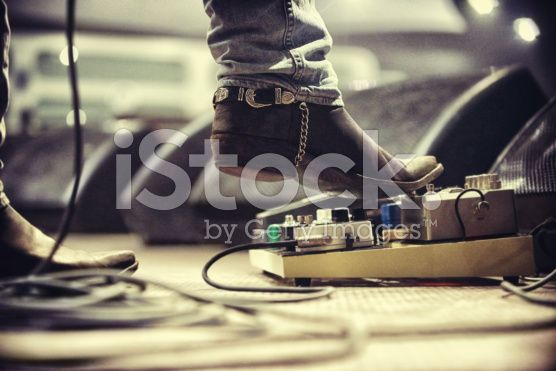 Controlling the music royalty-free stock photo
