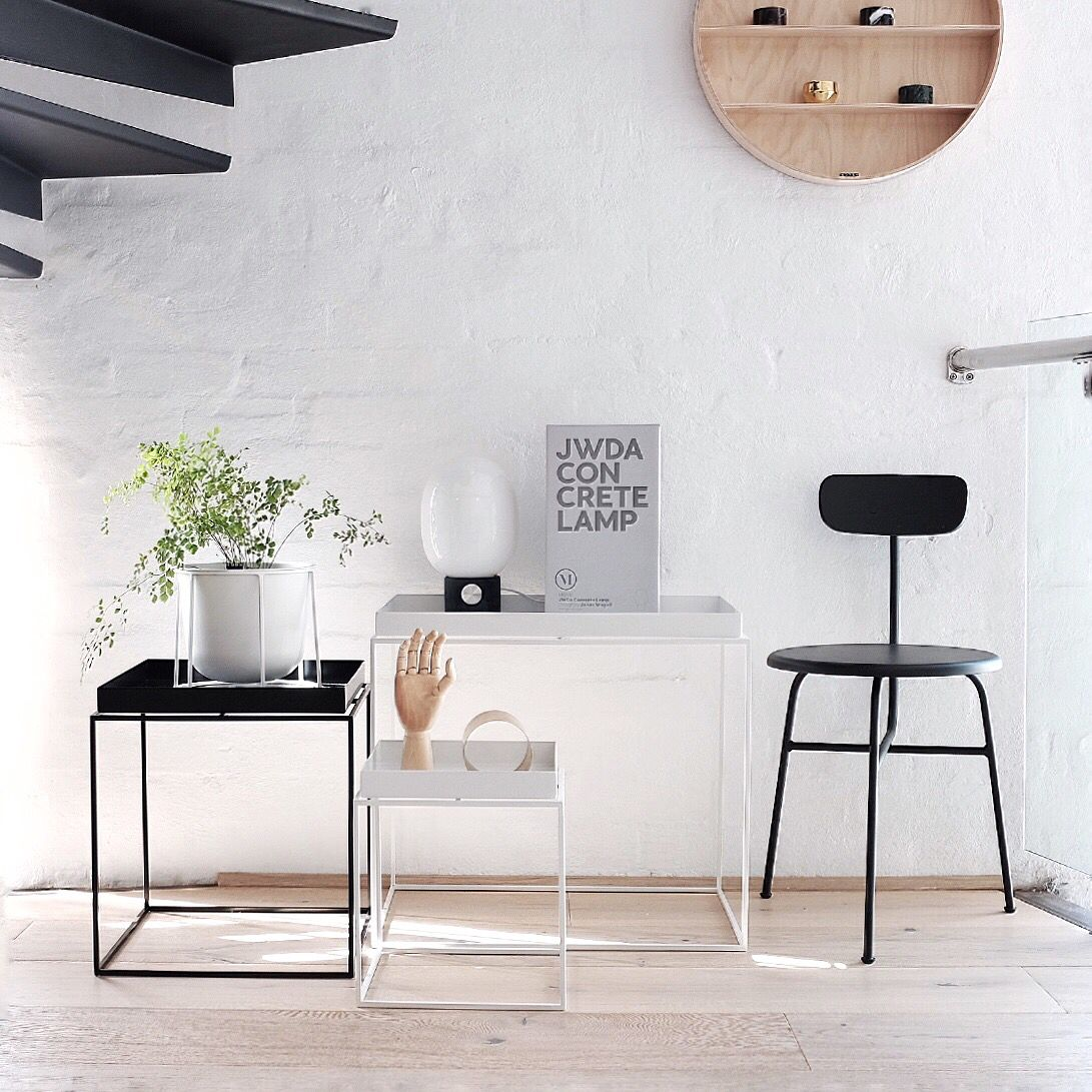Scandinavian Design Side Tables: Scandinavian Minimalism And Clean Lines At Its Best. The