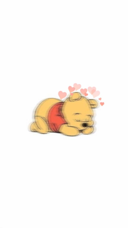 Winniethepooh Winnie Blur Wallpaper Heartcrown
