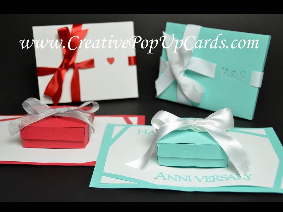 Gift Box Pop Up Card Tutorial Pop Up Card Templates Pop Up Cards Birthday Card Printable