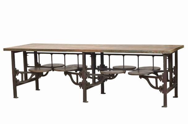 Wundervoll Esstisch Mit Eisengestell Und Massivholzplatte   Esstische   Alle Möbel  Nach Kategorien   Kategorien   Moebelhaus