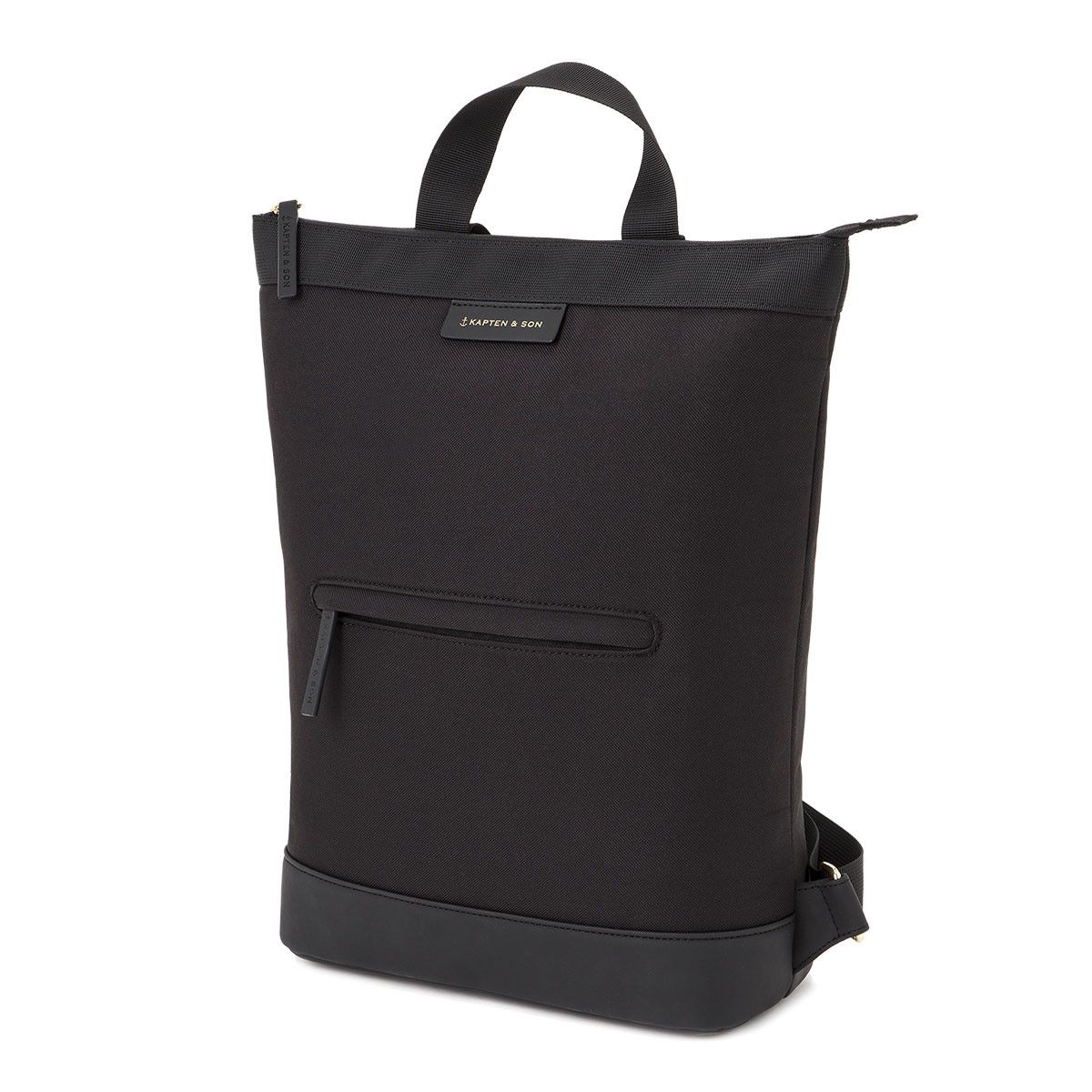584bdd9dc9a Trendy black backpack