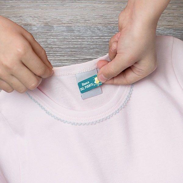 Etiquetas Adhesivas Para Personalizar Para Marcar La Ropa