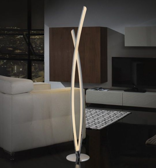 Porandavalgusti Linur 25 4w 1778lm 4000k Led Hektor Light Floor Lamp Chrome Floor Lamps Lamp