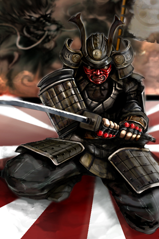 Angry Samurai Hd Iphone Wallpapers Store Tattoos I Like