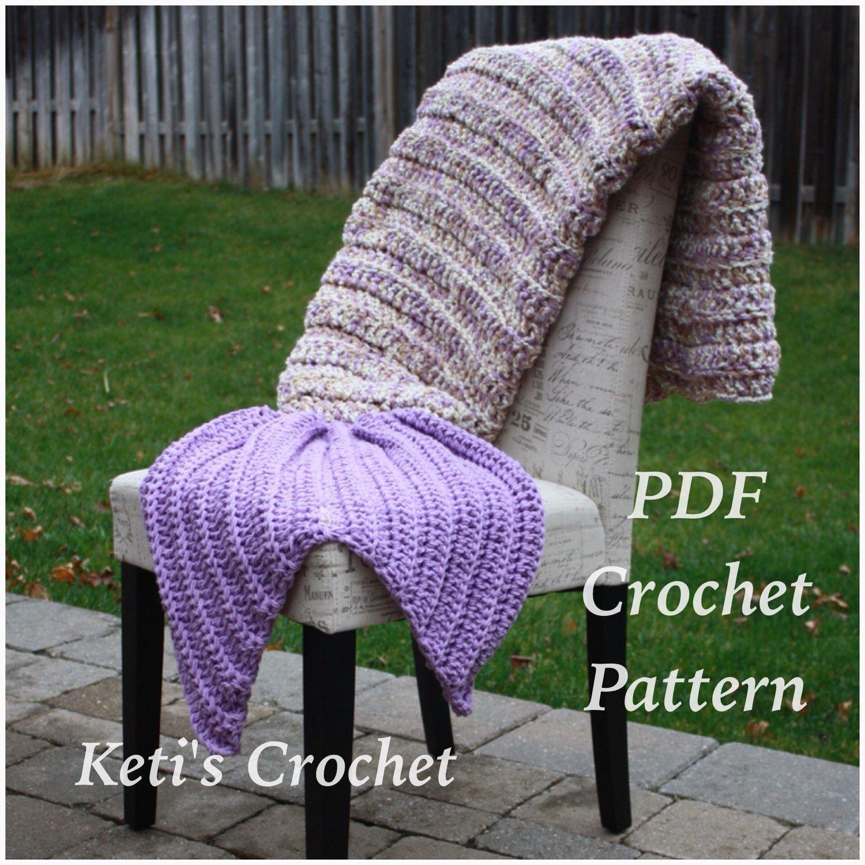 Crochet Pattern for Mermaid Blanket,Mermaid Blanket Crochet Pattern ...