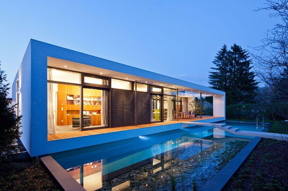 Casa minimalista moderna 20 foto di ville da sogno for Idee casa minimalista