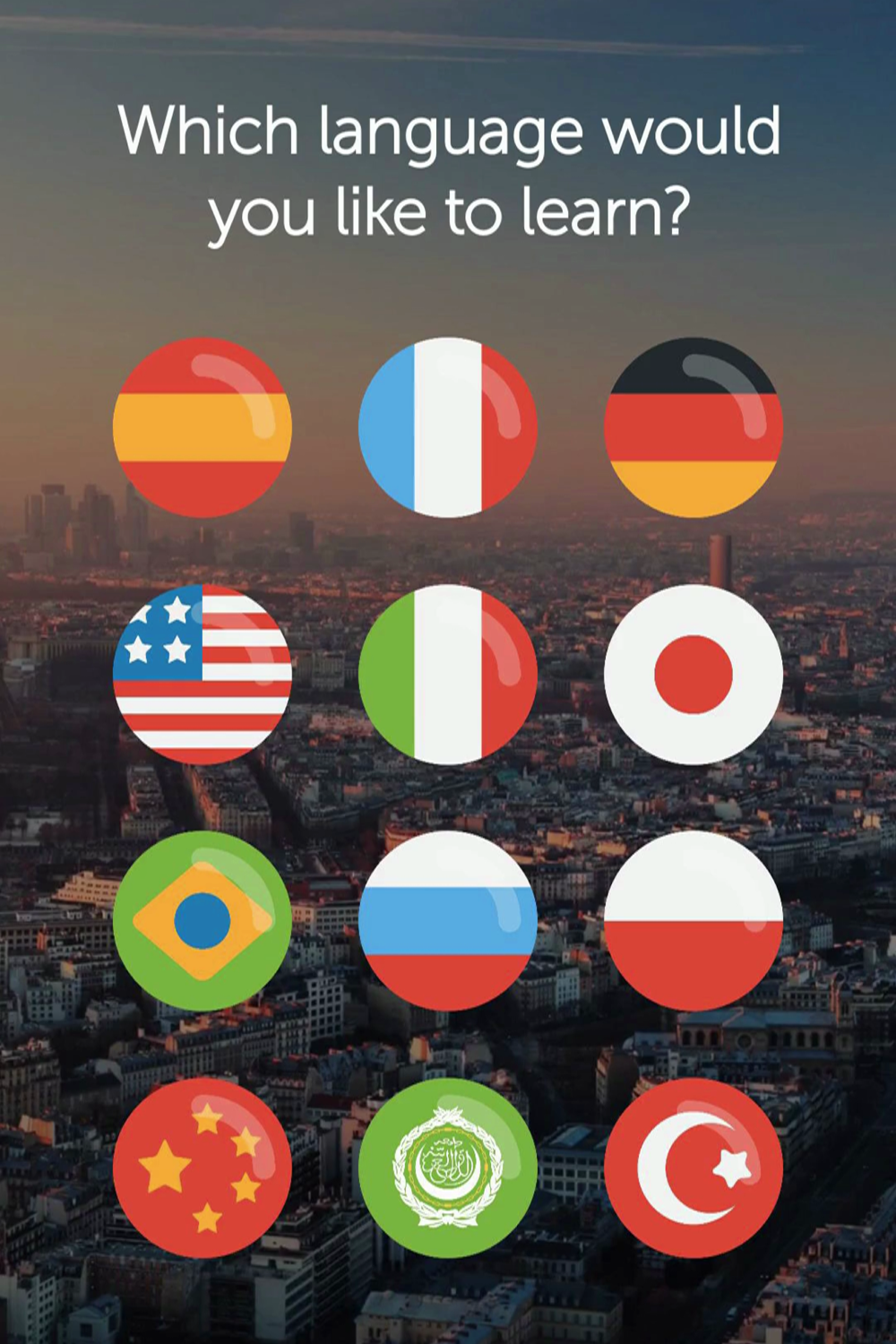 Join 90 million people learning to speak a language in 10