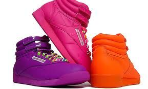 Hi-Tops..I had pink and white ones